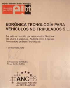 Certificado EIBT de ANCES